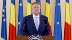 Declarație de presă susținută de Președintele României, Klaus Iohannis, privind votul moțiunii de cenzură a Guvernului condus de Viorica Dăncilă