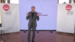 """Conferință de presă susținută de candidatul Ion Ceban cu tema """"Spațiile verzi în Chișinăul de mâine"""""""