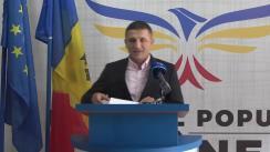 Conferință de presă susținută de Candidatul Partidului Popular Românesc la funcția de primarul municipiului Chișinău, Vlad Țurcanu, privind blocurile supraetajate și stațiile PECO construite prin încălcarea normelor de mediu