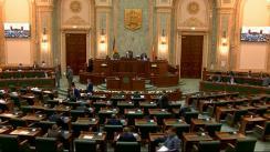 Ședința în plen a Senatului României din 14 octombrie 2019