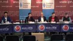 """Dezbateri publice cu tema """"Doar unul din mulți: cine și de ce?"""", dezbateri publice cu participarea candidaților la funcția de primar general al mun. Chișinău, prima rundă"""