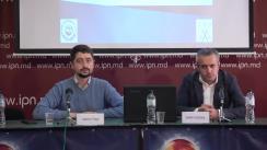 """Conferință de presă organizată de Comunitatea WatchDog.MD și CBS-AXA cu ocazia prezentării rezultatelor sondajului de opinie """"Omnibus pre-electoral 3: Chișinău 2019"""""""