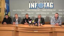 """Conferință de presă susținută de reprezentanții federațiilor sportive din Republica Moldova cu tema """"Situația actuală în domeniul sportului"""""""
