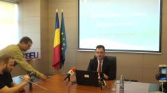 Conferință de presă susținută de Ministrul pentru Mediul de Afaceri, Ștefan Radu Oprea