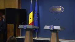 Conferință de presă după ședința Guvernului României din 14 octombrie 2019
