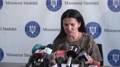 Conferință de presă susținută de ministrul Sănătății al României, Sorina Pintea, privind achiziția de incubatoare