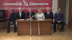 Adresarea candidaților în Consiliul Municipal Chișinău din partea PCRM către alegători