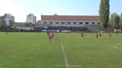 Meciul de Rugby între SCM Gloria Buzău - CSA Steaua București. SuperLiga CEC BANK 2019-2020