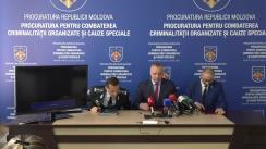 """Conferință de presă organizată de Procuratura pentru Combaterea Criminalității Organizate și Cauze Speciale cu tema """"Doi suspecți că ar fi asasini plătiți – reținuți, sub conducerea PCCOCS"""""""