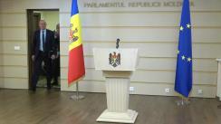 Briefing de presă susținut de fracțiunea Partidului Democrat din Moldova