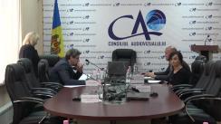Ședința Consiliului Audiovizualului din 18 octombrie 2019