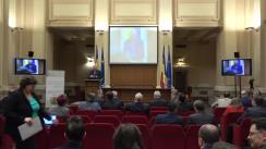 """Conferința """"Impactul BREXIT asupra economiilor din Irlanda, Regatul Unit al Marii Britanii și al Irlandei de Nord și Uniunea Europeană"""""""