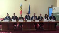 """Conferință de presă cu tema """"Marcarea Zilei Europene de luptă împotriva traficului de ființe umane și lansarea Campaniei naționale: Săptămâna de luptă împotriva traficului de ființe umane"""""""