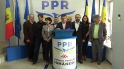 Conferință de presă susținută de candidatul Partidului Popular Românesc la funcția de primar al municipiului Chișinău, Vlad Țurcanu, privind noi detalii ale presiunilor asupra candidaților PPR în campania electorală