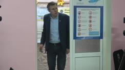 Alegeri 2019: Exprimarea votului de către candidatul Partidului Liberal la funcția de primar al municipiului Chișinău, Dorin Chirtoacă