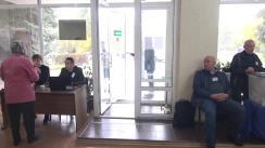 Alegeri 2019: Exprimarea votului de către candidatul Uniunii Salvați Basarabia la funcția de primar al municipiului Chișinău, Valeriu Munteanu