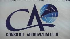 Ședința Consiliului Audiovizualului din 22 octombrie 2019