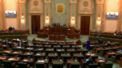 Ședința în plen a Senatului României din 21 octombrie 2019