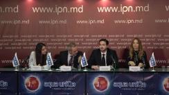 """Conferința de presă cu tema """"Constatările și concluziile preliminare ale Misiunii Internaționale de Observare a Alegerilor în Moldova pentru alegerile locale din 20 octombrie 2019"""""""