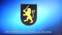 Conferință de presă organizată de Inspectoratul General al Poliției privind un caz de trafic de persoane în scop de exploatare în Grecia