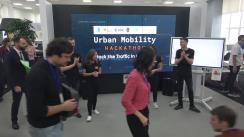 "Deschiderea evenimentului ""Urban Mobility Hackathon. Hack the Traffic in Chișinău"""
