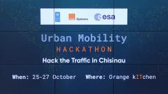 """Premierea câștigătorilor din cadrul hackathonului """"Urban Mobility Hackathon. Hack the Traffic in Chișinău"""""""