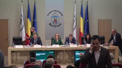 Ședința Consiliului General al Municipiului București din 24 octombrie 2019