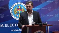Declarațiile lui Maxim Lebedinschi după ședința Comisiei Electorale Centrale din 25 octombrie 2019