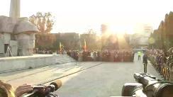Ceremonie organizată cu prilejul Zilei Armatei României la Carei, Satu Mare