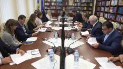 """Ședință de lucru în domeniul educației """"Promovarea și dezvoltarea instruirii duale"""" organizată de Comisia cultură, educație, cercetare, tineret, sport și mass-media"""