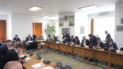 Audierea domnului Marcel Vela, candidat la funcția de Ministru al Afacerilor Interne