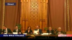 Audierea domnului Cătălin Marian Predoiu, candidat la funcția de Ministru al Justiției