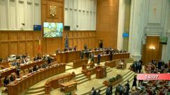 Ședința comună a Camerei Deputaților și Senatului României din 4 noiembrie 2019