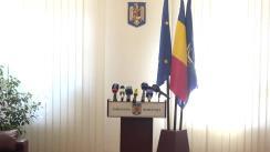 Conferința de presă susținută de Ambasadorul României în Republica Moldova, Daniel Ioniță, cu privire la organizarea și desfășurarea alegerilor prezidențiale din România, al căror prim tur va avea loc la data de 10 noiembrie 2019