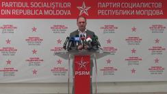 Briefing de presă susținut de candidatul Ion Ceban privind bilanțul campaniei electorale
