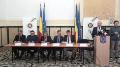 Conferință de presă susținută de președintele Autorității Electorale Permanente și de șefii departamentelor cu atribuții în organizarea și desfășurarea alegerilor pe tema ultimelor pregătiri pentru alegerile prezidențiale