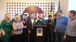 """Briefing de presă organizat de Partidul Unității Naționale cu tema """"Alegerile locale generale, turul II"""""""