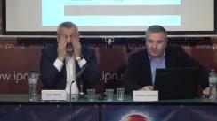 """Conferința de presă cu tema """"Prezentarea rezultatelor sondajului de tip exit-poll – alegeri locale Municipiul Chișinău, turul II"""""""