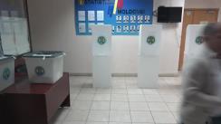 Alegeri 2019: Exprimarea votului de către candidatul Blocului ACUM Platforma DA și PAS, Andrei Năstase