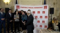 Declarație de presă susținută de Președintele PSD, Viorica Dăncilă