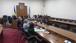 Ședința Curții de Conturi de examinare a Raportului auditului privind conformitatea devizelor de cheltuieli și alocațiilor pentru investiții ale Băncii Naționale a Moldovei pentru anii 2015-2018