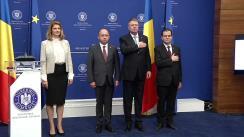 Ceremonia de preluare a mandatului de Ministru al Afacerilor Externe de către domnul Bogdan-Lucian Aurescu