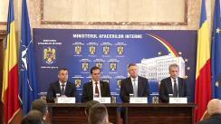 Ceremonia de preluare a mandatului de Ministru al Afacerilor Interne de către domnul Marcel Ion Vela
