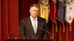 Ceremonia de preluare a mandatului de Ministru al Apărării Naționale de către domnul Ionel Nicolae Ciucă