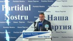"""Conferință de presă organizată de Partidul Nostru cu tema """"Dovezi de utilizare a metodelor frauduloase la alegerile din 3 noiembrie"""""""