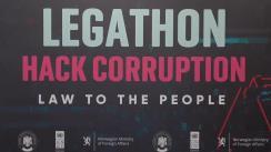 """Prezentarea proiectelor și premierea câștigătorilor din cadrul hackathonului """"Legathon: Hack Corruption. Law to the People"""""""