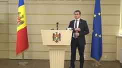 Declarație de presă susținută de deputații Blocului ACUM, Alexandru Slusari și Igor Grosu, după întrevederea cu Președintele Republicii Moldova, Igor Dodon
