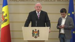 Declarația fracțiunii PSRM înainte de ședința Parlamentului Republicii Moldova din 8 noiembrie 2019