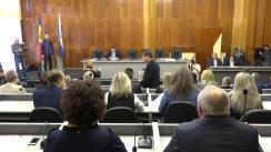 Ședința de constituire a Consiliului Municipal Bălți din 11 noiembrie 2019