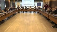 """Masa rotundă organizată de Institutul pentru Politici și Reforme Europene în parteneriat cu Biroul Asociat de Avocați """"Paladii, Catan și Asociații"""" dedicată Analizei cadrului de politici privind prevenirea și combaterea spălării banilor în Republica Moldova"""